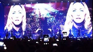 Madonna Prague live 2015,  Rebel Heart, Praha