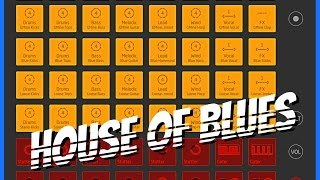 House Of Blues Sound Pack Demo for Launchpad, Brilliant