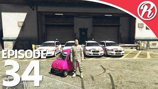 [GTA5] NEDERLANDSE POLITIE VS HENKIE!! - Royalistiq | Politie en boefje #34