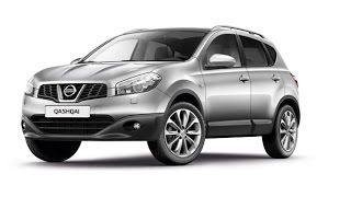 Замена лобового стекла на Nissan Qashqai в Казани.