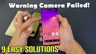 "Galaxy S8/S9/S10: ""Warning Camera Failed"" 9 Easy Fixes! screenshot 4"
