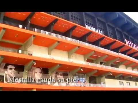 El estadio de Mestalla (VCF) muda su piel, Ahora Valencia