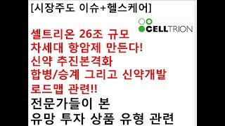 [시장주도 이슈+헬스케어]셀트리온 26조 규모차세대 항…