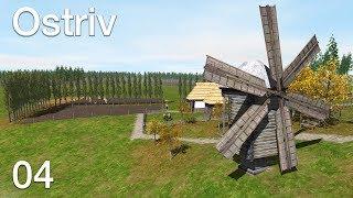 """Строим деревню, продаем товары соседям, """"Ostriv"""", 4 серия"""
