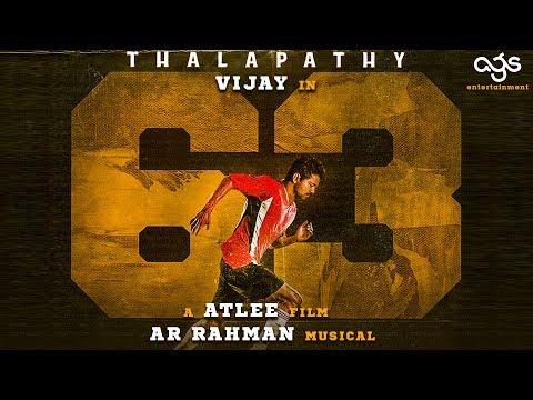 BIG BREAKING: Thalapathy 63 Shooting Date!   Vijay   Nayanthara   Atlee