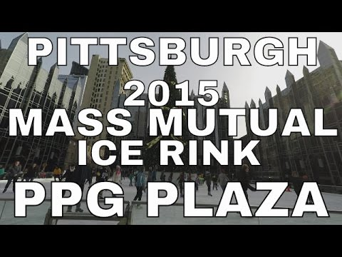 Pittsburgh: PPG Plaza Ice Skating December 20, 2015