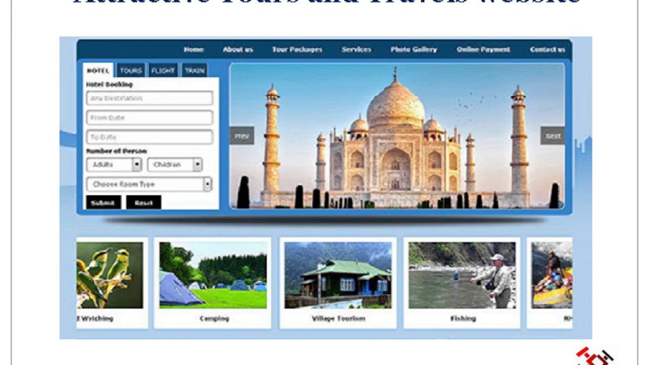 Tours And Travels Websites In India   Yoktravels com