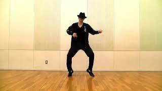 マイケルジャクソンのスムースクリミナルやってみました。 基本的な動き...