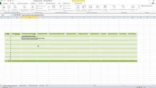 Таблица для ведения склада в Microsoft Excel 2010 своими руками