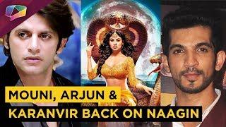 Mouni Roy, Arjun Bijlani And Karanvir Bohra To Be Back On Naagin 3