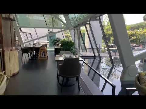 Buffet Lunch At Rise Restaurant Marina Bay Sands Hotel