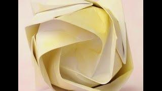 Origami - Como Hacer Una Rosa (nicolas Delgado)