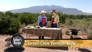 Venison Green Chile Stew Family Recipe Video