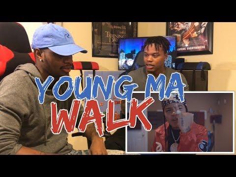 Young MA  Walk    REACTION
