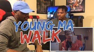 "Young M.A - ""Walk"" (Official Video) - REACTION"
