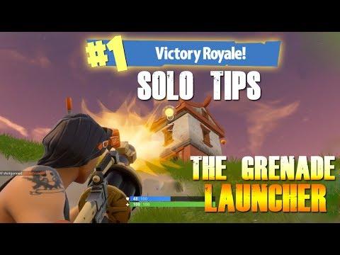 "Fortnite How to win Tips | ""Grenade Launcher"" | #29"