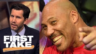 Will Cain compares LaVar Ball to Beanie Babies | First Take | ESPN