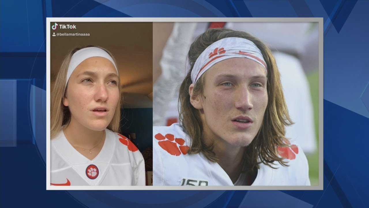 Meet Bella Martina, the girl who looks like Trevor Lawrence