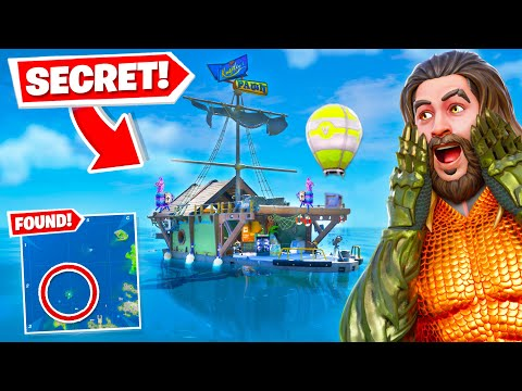 *NEW* SECRET LOOT BOAT Found In Fortnite! (MUST SEE)
