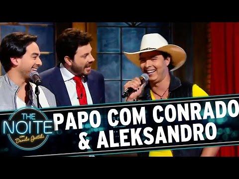 The Noite (10/12/15) - Papo com a dupla Conrado & Aleksandro