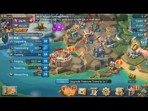 Lords Mobile - How To Survive As F2P