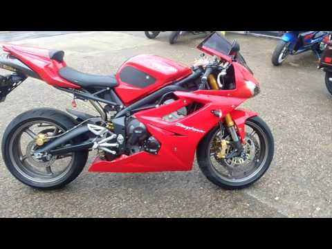 Triumph Daytona  Walk Round Sound Arrow Exhaust