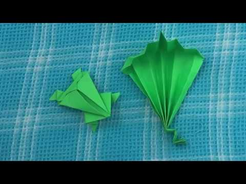 how to make a paper frog and snake paper craft art कागज के खिलौने