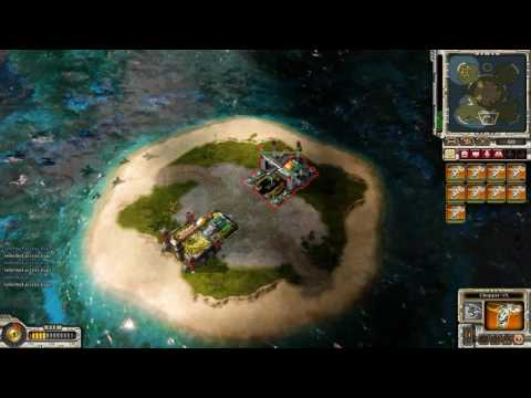 Command & Conquer Red Alert 3 Uprising commander's challange - Battle Royale |
