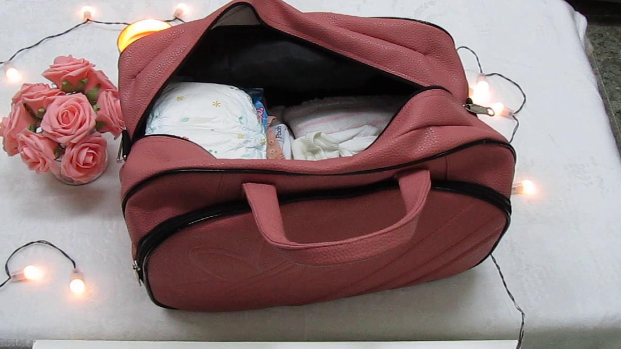 a075bee47d6a1  تجهيز حقيبة الولادة لك و لطفلك  - YouTube