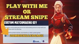 🔴FORTNITE CUSTOM MATCHMAKING KEY🔴NEW DIG SITE EVENT NOW🔴STREAM SNIPE ME OPEN LOBBY🔴ITEM SHOP LIVE