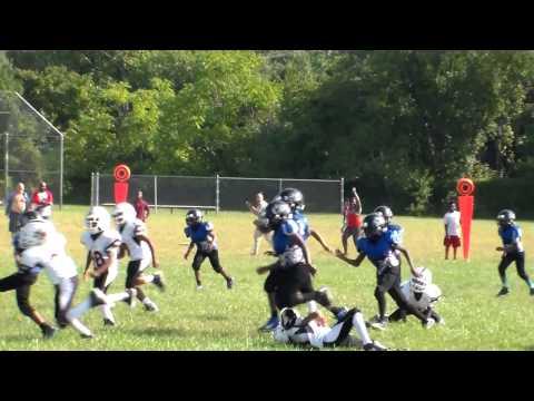 Parkside Warriors 7-9 Coach Nelson VS Eastside Colts Game 2 1of 2 2012 Season