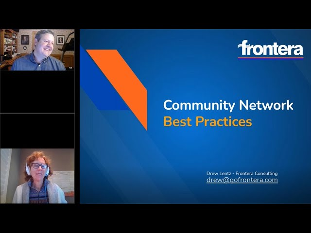 Webinar: Community Networks - Best Practices from Drew Lentz, 2020 Connectivity Hero of the Year