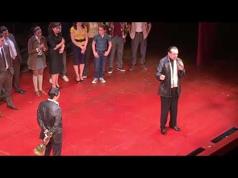 A Bronx Tale The Musical Bobby Conte Thornton Final Show Chazz Palminteri's Speech
