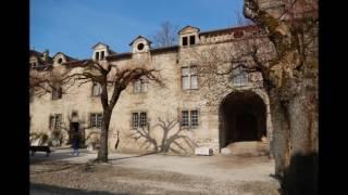 Saint Antoine l'Abbaye  en Isère - France