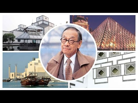 Chinese-American modernist architect titan Ieoh Ming Pei celebrates 100th birthday