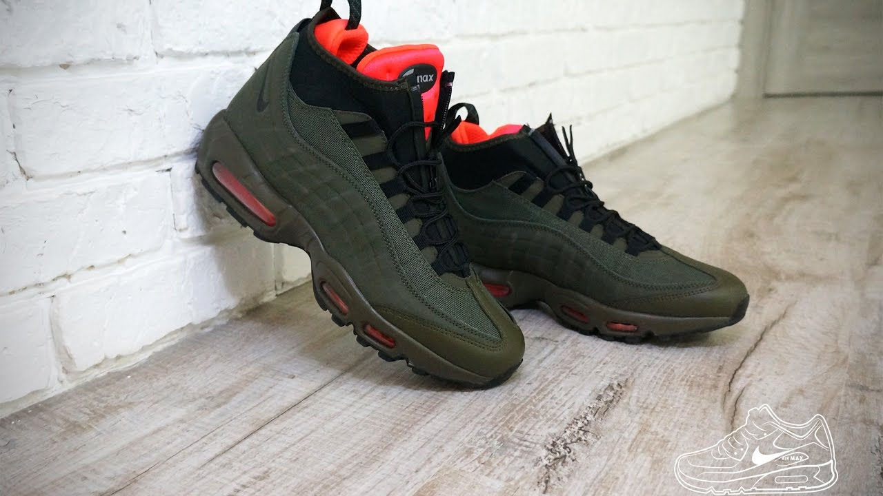 nine air max 95 sneakerboot