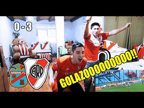 Arsenal 0 River 3 | Reacciones de Dos Hinchas de River | Superliga fecha 24