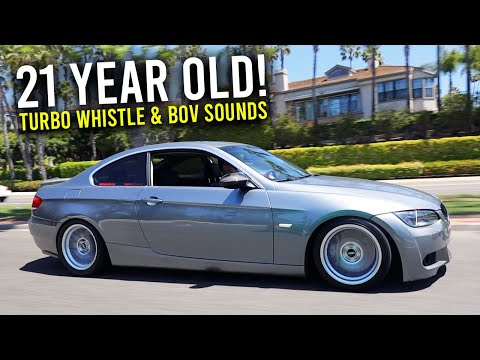 Parker's BMW E92 335i With Crazy BOV Sounds *Full Bolt On N54*