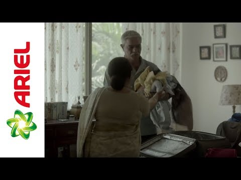 Why is Laundry only a mother's job? Dads #ShareTheLoad (Hindi) – Ariel