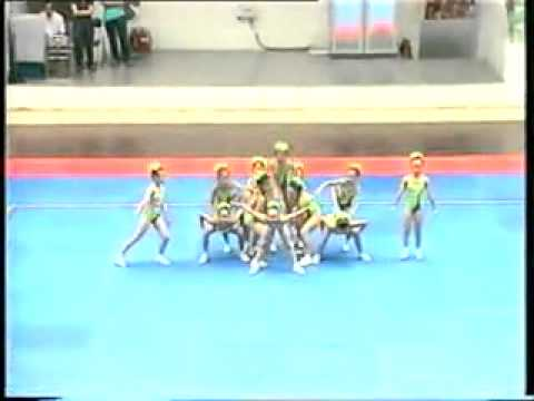 aerobic dance -World Children