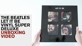 The Beatles / Let It Be 5LP vinyl super deluxe unboxing
