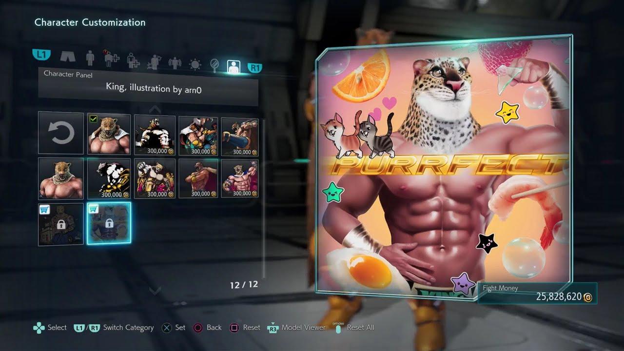 Tekken 7 All New Funny Character Panels Youtube