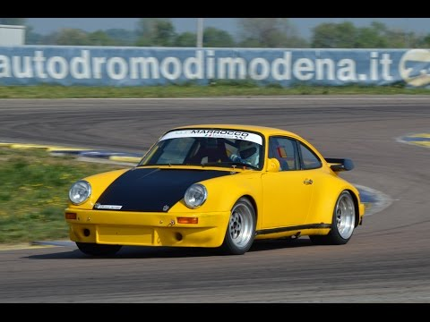 1972 Porsche 911 2.7 RS Gr4: action, on board & pure sound