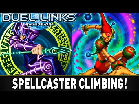 Spellcaster Climbing - Ranked GamePlay! | YuGiOh Duel Links Mobile w/ ShadyPenguinn