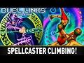 Spellcaster Climbing - Ranked GamePlay! | YuGiOh Duel Links Mobile w/ ShadyPenguinn