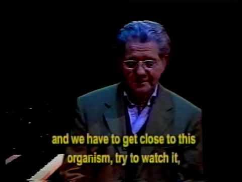 The Piano School Part 3.  The Art of Piano of Claudio Arrau and his Assistant Rafael de Silva.