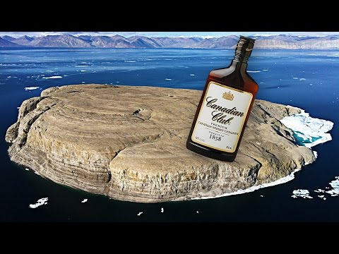 Why Does Canada Keep Leaving Bottles of Whiskey on This Remote Island?