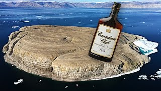 why does canada keep leaving bottles of whiskey on this remote island