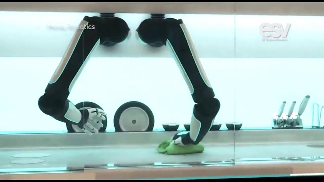 Cocinar es m s f cil con este robot cocinero youtube for Cocinar con robot
