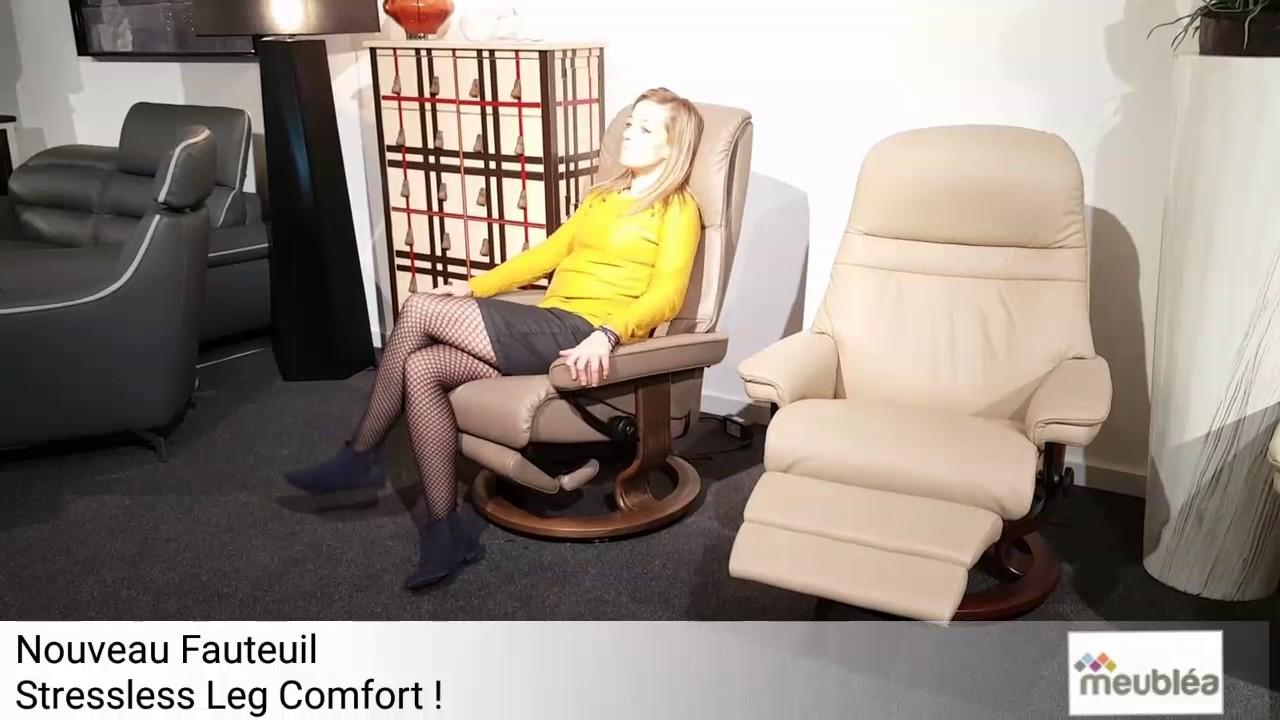 Nouveau Fauteuil Stressless Leg Comfort Magasin Meublea Nort Sur Erdre